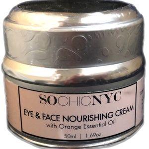 Eye & Face Nourishing Cream - With Orange Essentia